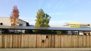 large Sunpower solar panel system