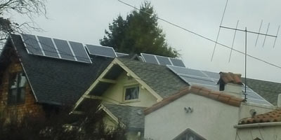 Berkeley California Solar Houses